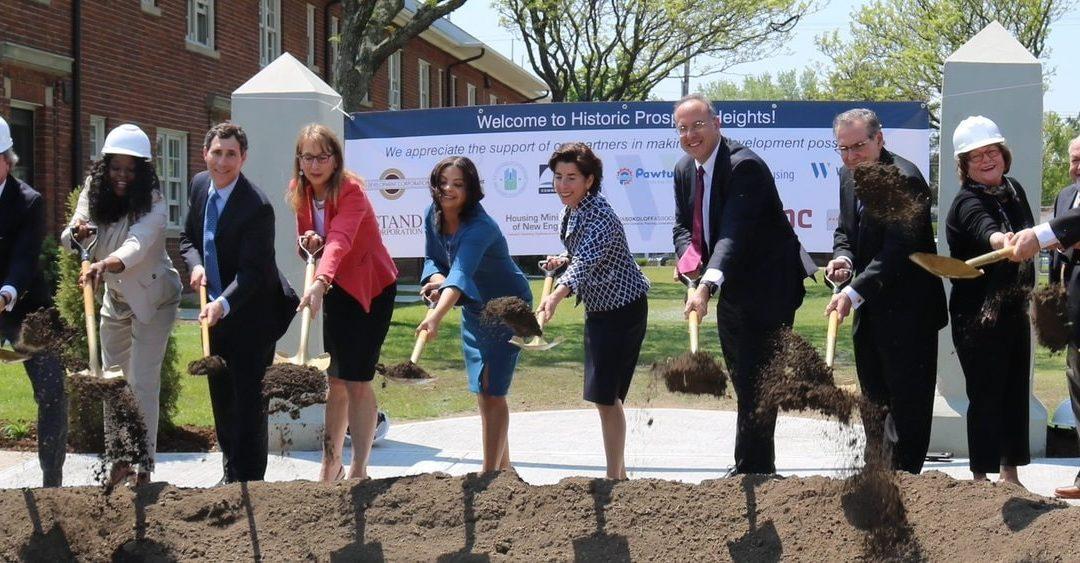 WINNCOMPANIES & OMNI DEVELOPMENT BREAK GROUND ON $42 MILLION REHAB at Historic Rhode Island Public Housing Community